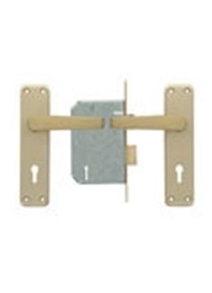 Picture of 2 Lever Lockset with Aluminium Handles