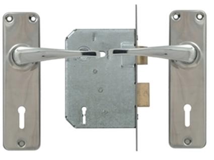 Picture of 4 Lever Standard Lockset