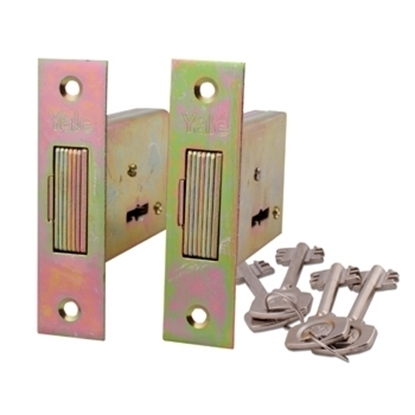 Picture of 5 Lever Security Gate Lock Duo KA