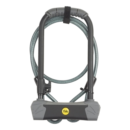 Picture of Maximum Security U-lock bike lock with Cable
