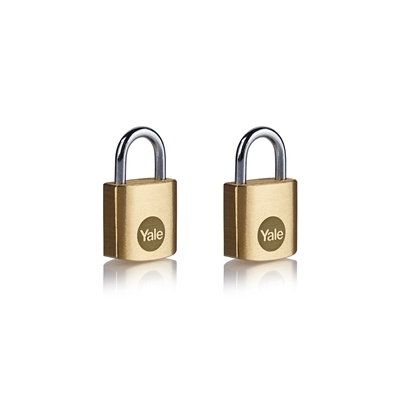 Picture of 20mm Brass Padlock - Duo pack