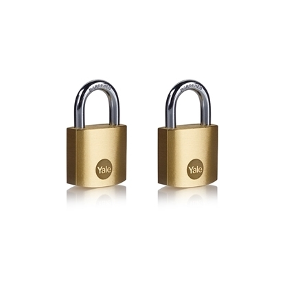 Picture of 30mm Brass Padlock - Duo Pack