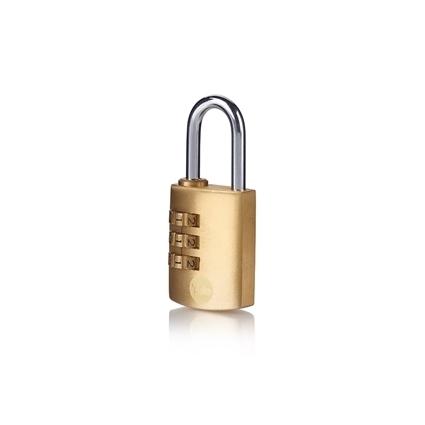 Picture of 30mm Brass Padlock combination padlock