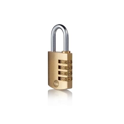Picture of 40mm Brass Padlock combination padlock