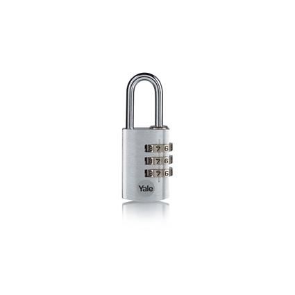 Picture of 3-dial Aluminium Combination Padlock - Silver