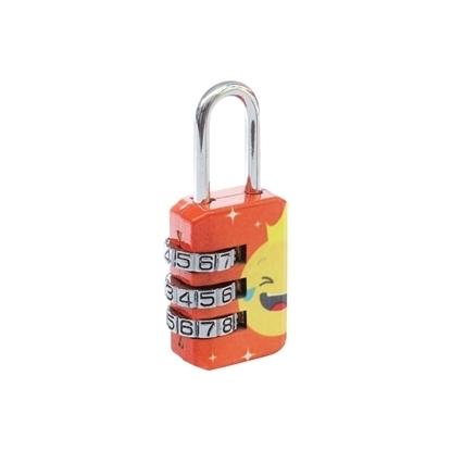 Picture of Emoji Combination Lock - Orange