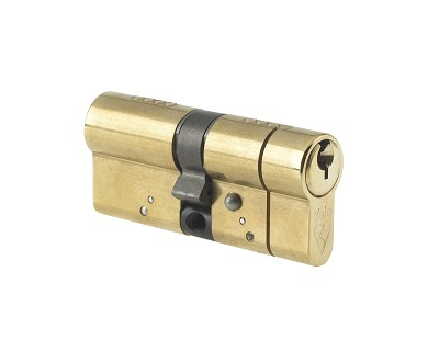 70mm Anti-Snap Cylinder - Brass